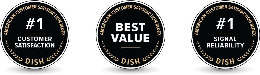 DISH Ranked #1 in Customer Satisfaction - Satellite Service Company - DISH Authorized Retailer